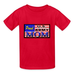 Proud Army mom - Kids' T-Shirt