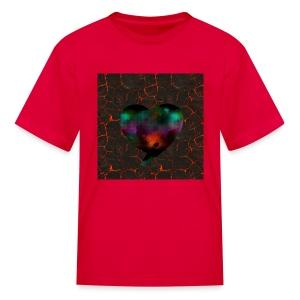 Heart of fire - Kids' T-Shirt