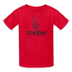 Skelly Peace - Kids' T-Shirt