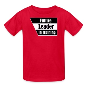 Future Leader in training - Kids' T-Shirt