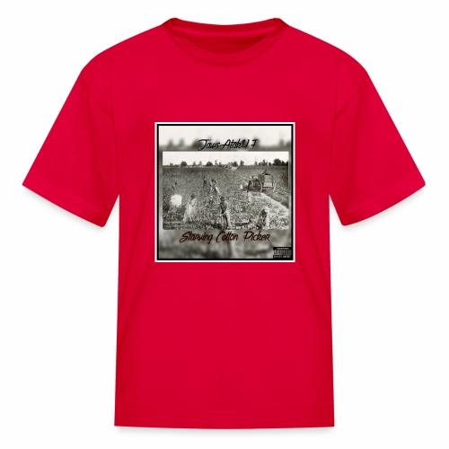 Jawscotton picker album cover - Kids' T-Shirt