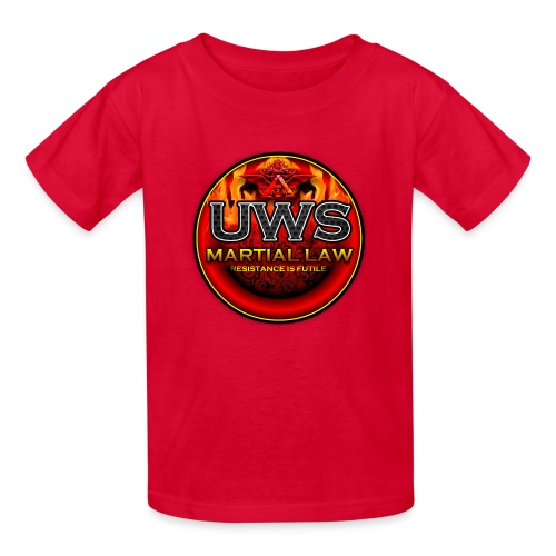UWS MARTIAL LAW - OFFICIAL TRIBE GEAR - Kids' T-Shirt