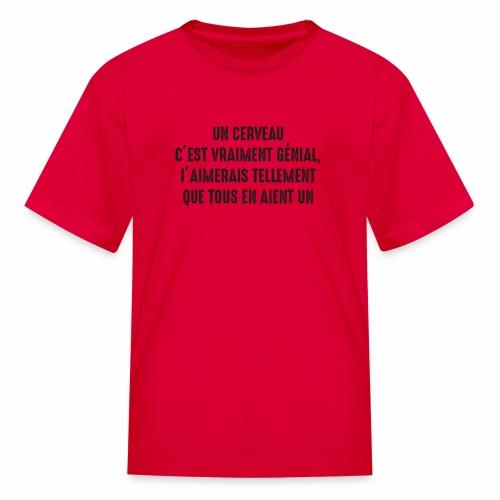 brain b - Kids' T-Shirt