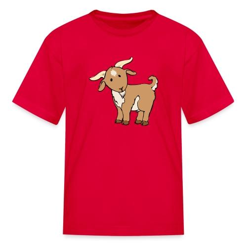 Cute Brown Goat - Kids' T-Shirt