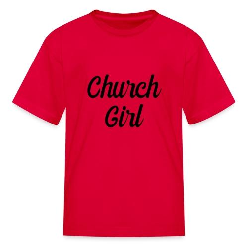 church girl - Kids' T-Shirt