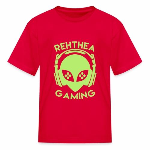 Alien Head Rehthea Gaming - Kids' T-Shirt