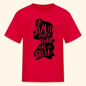 Funny girl - Kids' T-Shirt