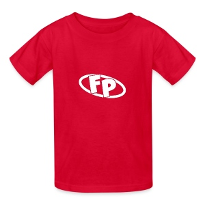 Secondary FRESHPOPCORN Logo - Kids' T-Shirt