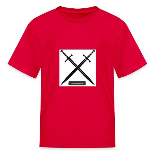 Assassin66 Vlogs - Kids' T-Shirt
