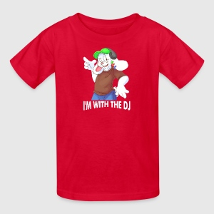 i with dj - Kids' T-Shirt