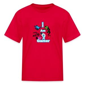 I am a gear - Kids' T-Shirt