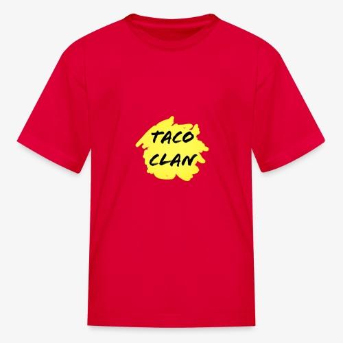 TACO CLAN LOGO MERCH - Kids' T-Shirt