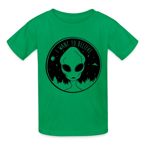 I Want To Believe - Kids' T-Shirt