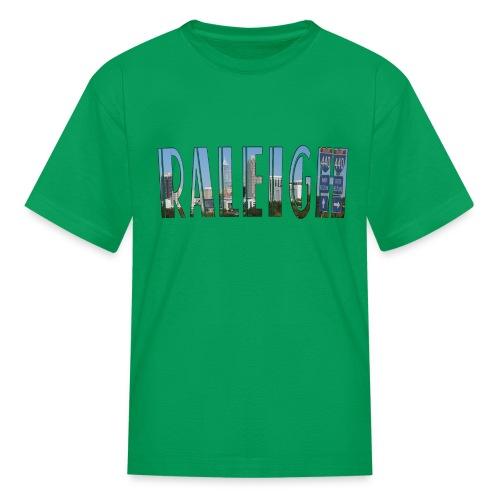 Raleigh Skyline Fall - Kids' T-Shirt