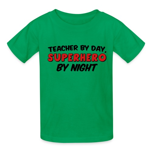 Teacher and Superhero - Kids' T-Shirt