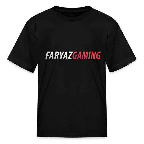 FaryazGaming Text - Kids' T-Shirt