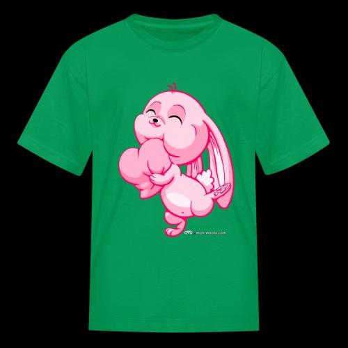 Pink Bunny - Kids' T-Shirt