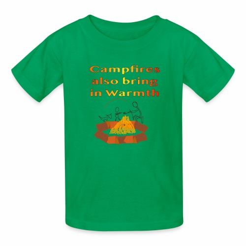 Around the Campfire - Kids' T-Shirt