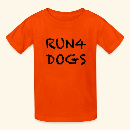 RUN4DOGS NAME - Kids' T-Shirt