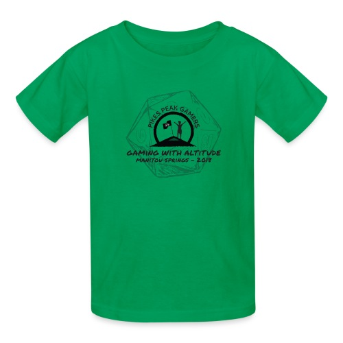 Pikes Peak Gamers Convention 2018 - Clothing - Kids' T-Shirt