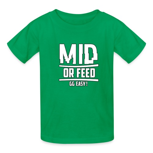 MID OR FEED - Kids' T-Shirt