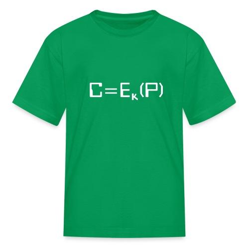 Ciphertext - Kids' T-Shirt