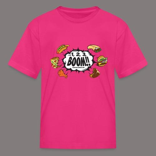 123_BOOM_FINAL Spreadshir - Kids' T-Shirt