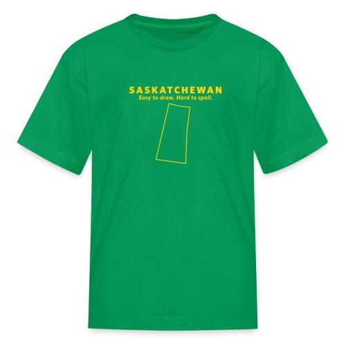 Saskatchewan - Kids' T-Shirt