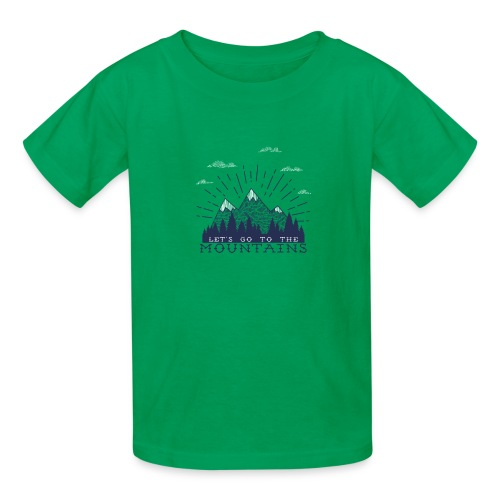 Adventure Mountains T-shirts and Products - Kids' T-Shirt