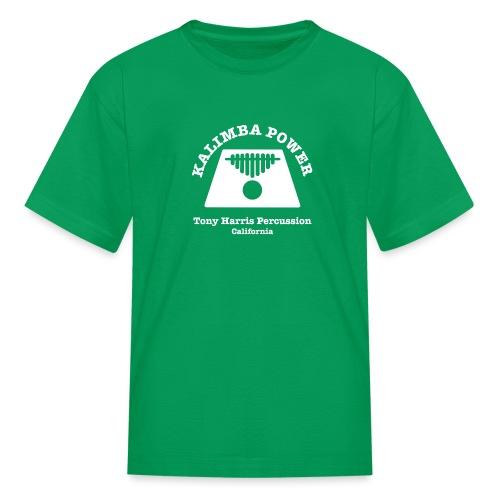 Kalimba Power Tony Harris Percussion w - Kids' T-Shirt