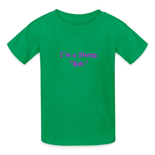 I'm a Sheep. Bah. - Kids' T-Shirt