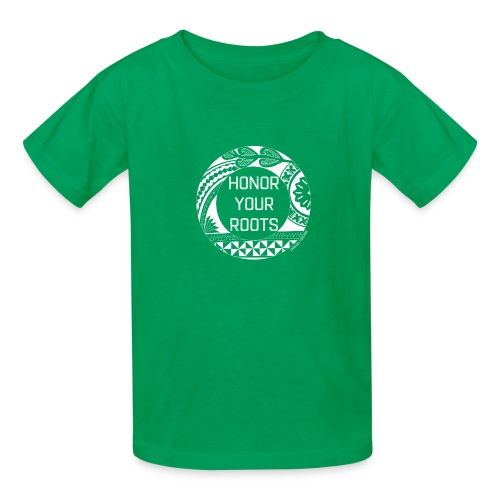 Honor Your Roots (White) - Kids' T-Shirt