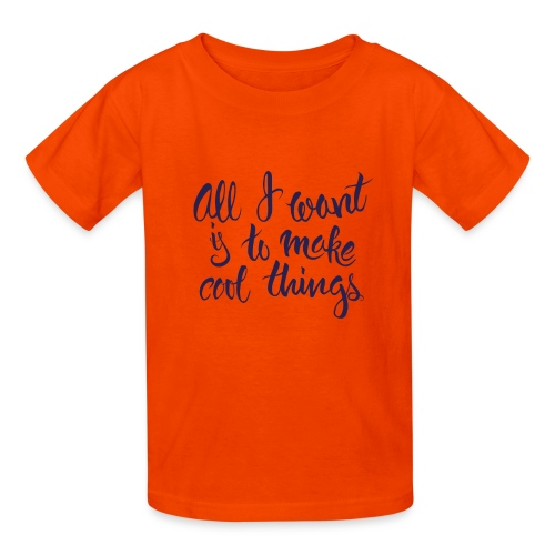 Cool Things Navy - Kids' T-Shirt