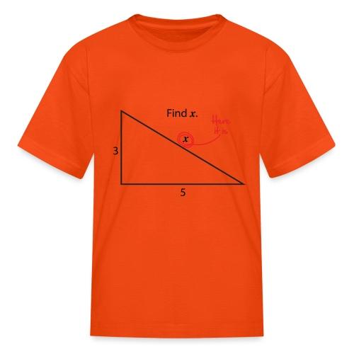 Find X - Kids' T-Shirt