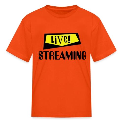 Live Streaming - Kids' T-Shirt