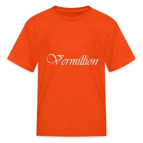 Vermillion T - Kids' T-Shirt