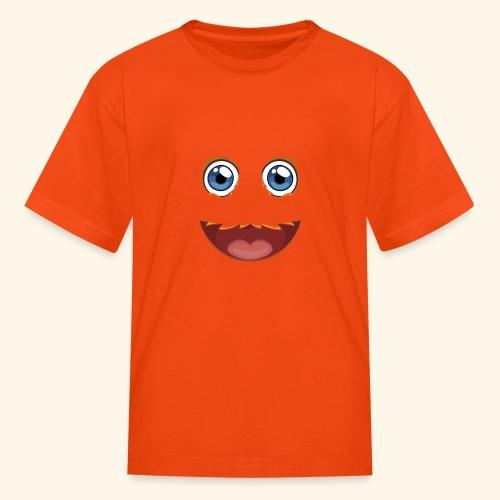 Fuzzy Puppet Face - Kids' T-Shirt