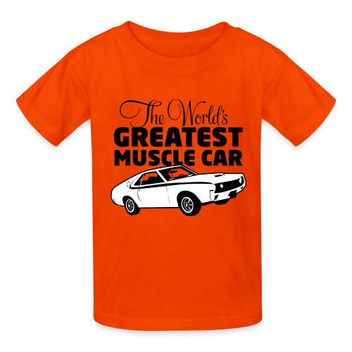 Greatest Muscle Car - Javelin - Kids' T-Shirt