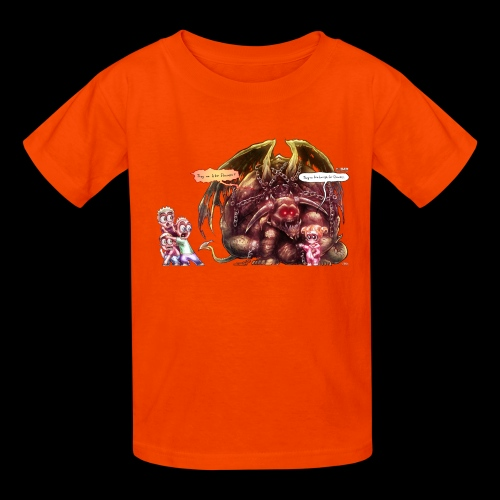 Mr Jingly Chains Meets The Boys - Kids' T-Shirt