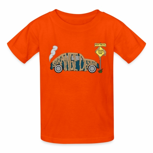Strange Design - Kids' T-Shirt