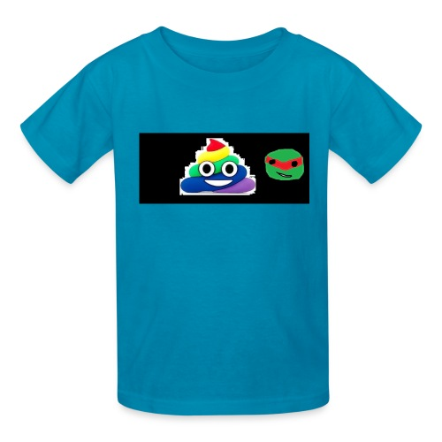 ninja poop - Kids' T-Shirt