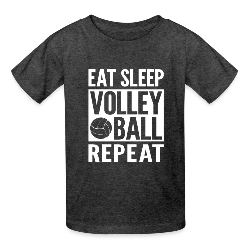 Eat Sleep Volleyball Repeat - Kids' T-Shirt