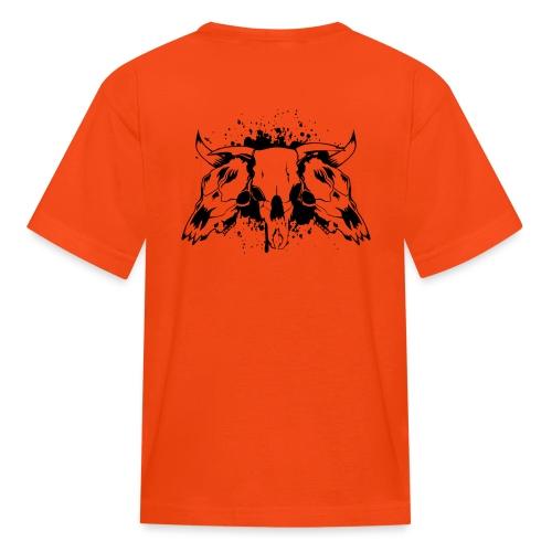 skull bull 3 - Kids' T-Shirt