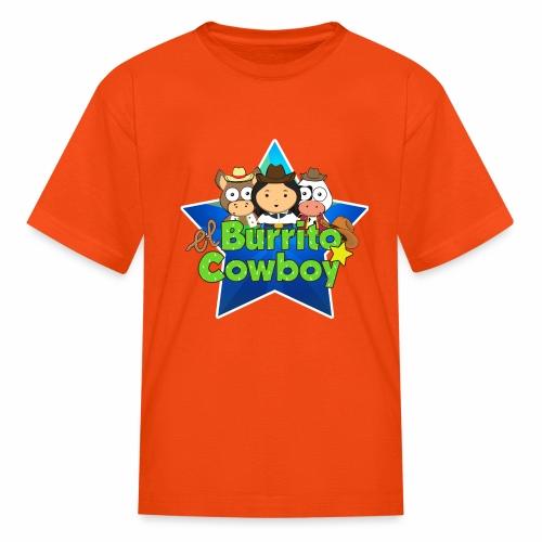 El Burrito Cowboy Star - Kids' T-Shirt