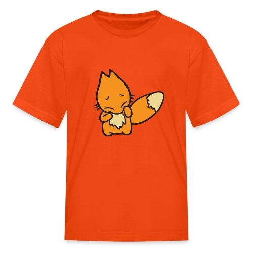Scaredy Fox - Kids' T-Shirt