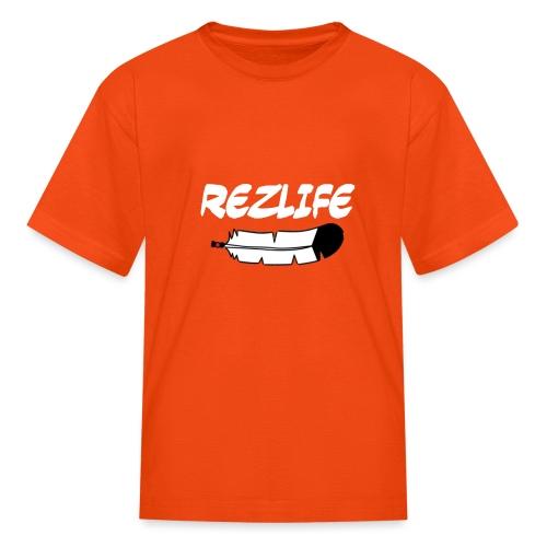 Rez Life - Kids' T-Shirt