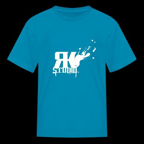 RKStudio White Logo Version - Kids' T-Shirt