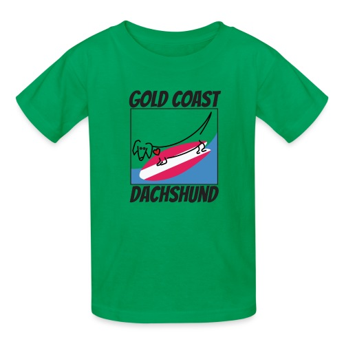 Gold Coast Dachshund - Kids' T-Shirt