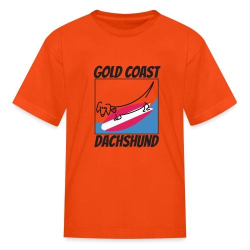 Gold Coast Dachshund - Kids' T-Shirt