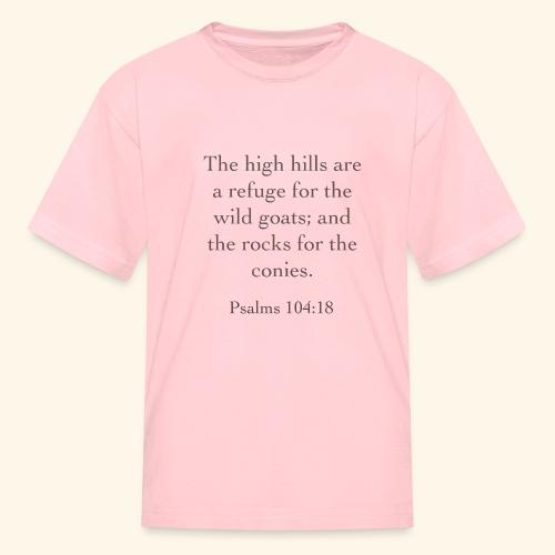 High Hills KJV - Kids' T-Shirt